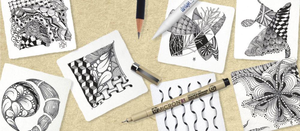 Zentangle Material