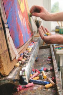 Rembrandtweiche Künstlerpastelleeinzeln1