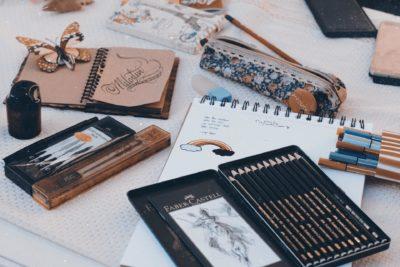Zeichnen Material